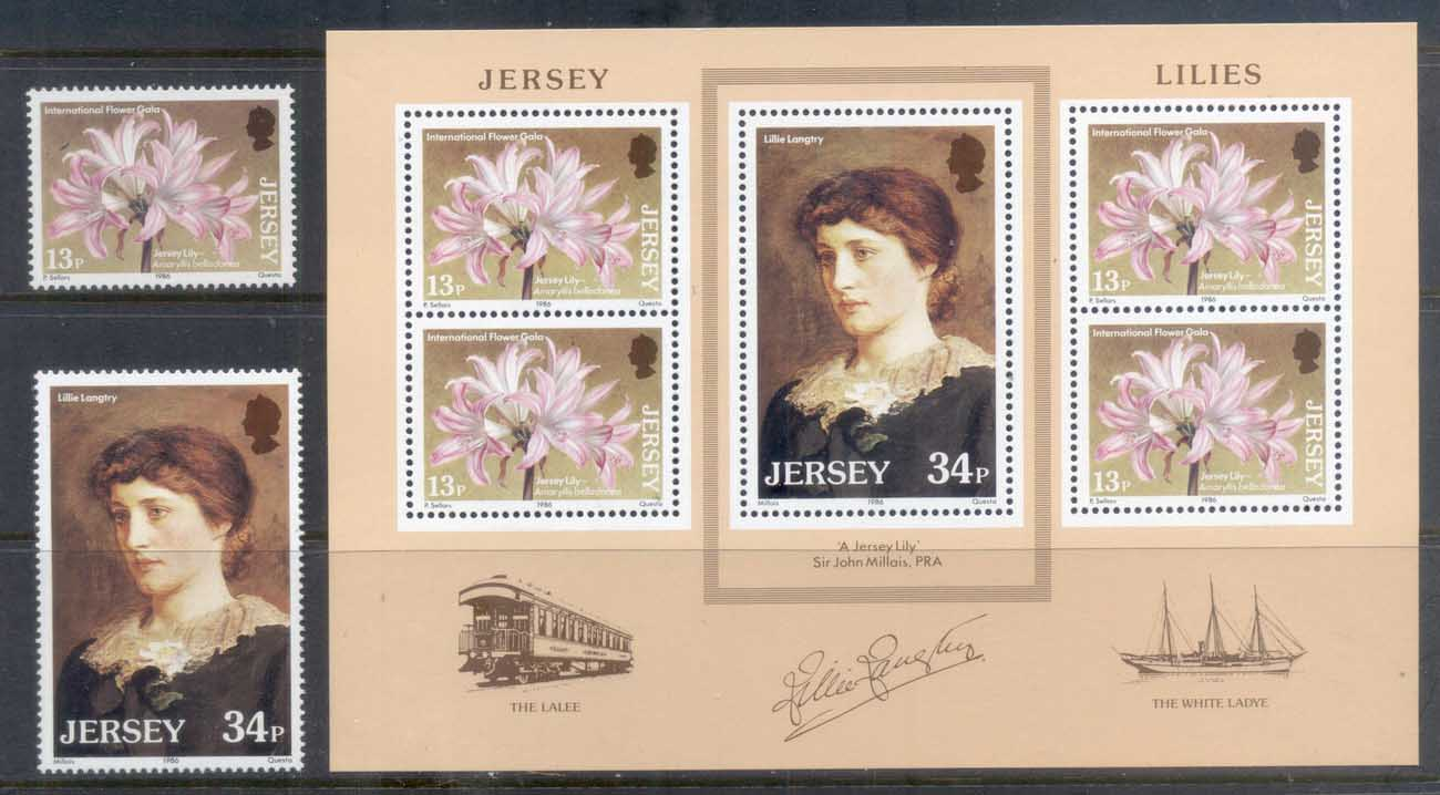Jersey 1986 Lillie Langtree, Flower Gala + MS MUH