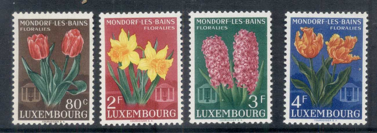 Luxembourg 1955 Flower Festival MUH