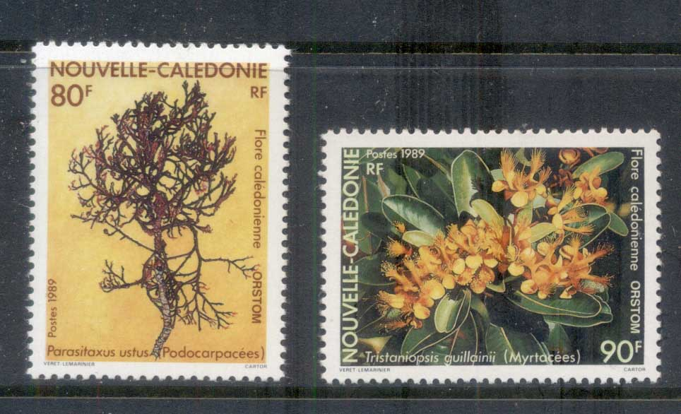 New Caledonia 1989 Indigenous Plants MUH