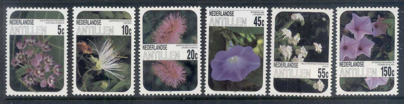 Nederlands Antilles 1985 Flowers MUH