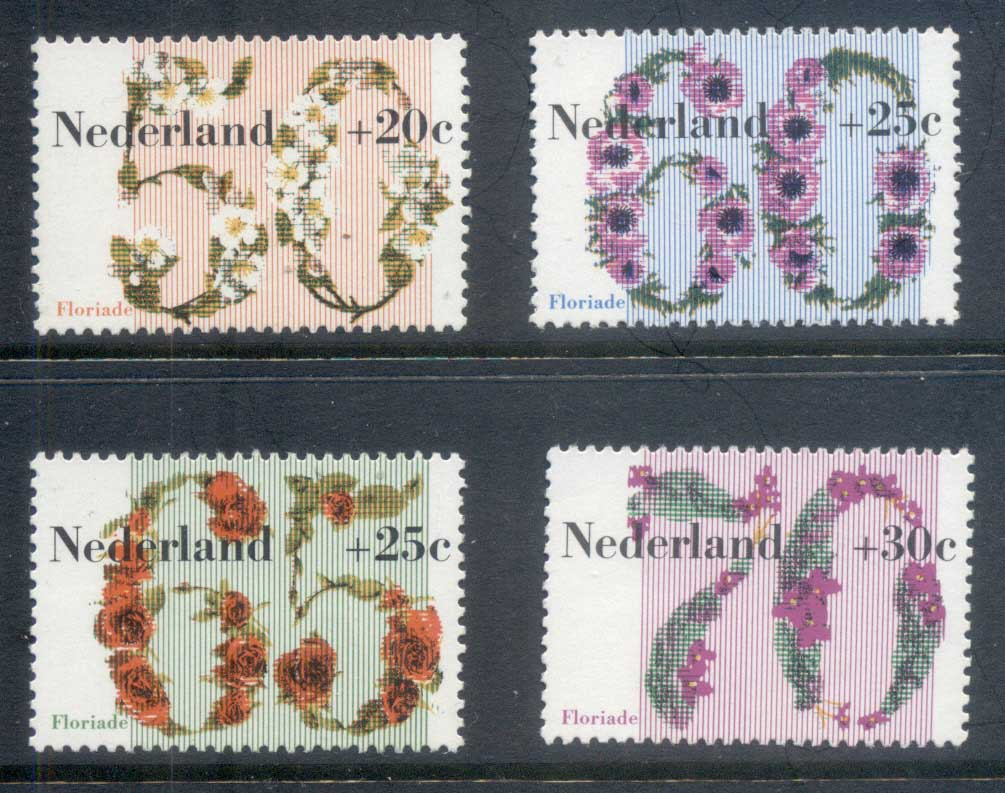 Netherlands 1982 Welfare, Flowers MUH