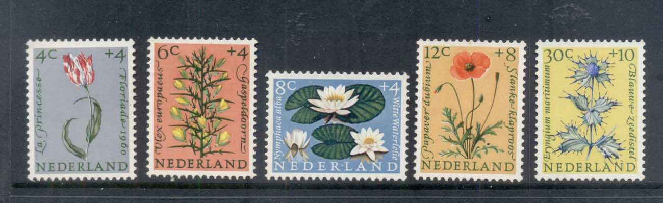 Netherlands 1960 Welfare, Flowers MLH