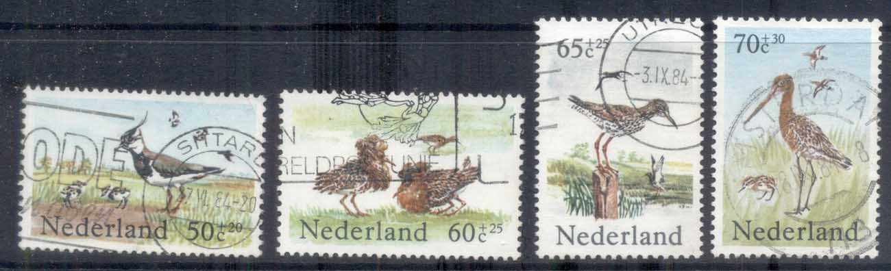 Netherlands 1984 Welfare, Birds FU