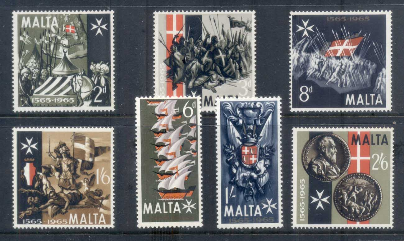 Malta 1965 Great Seige 4th Cent Turk MUH