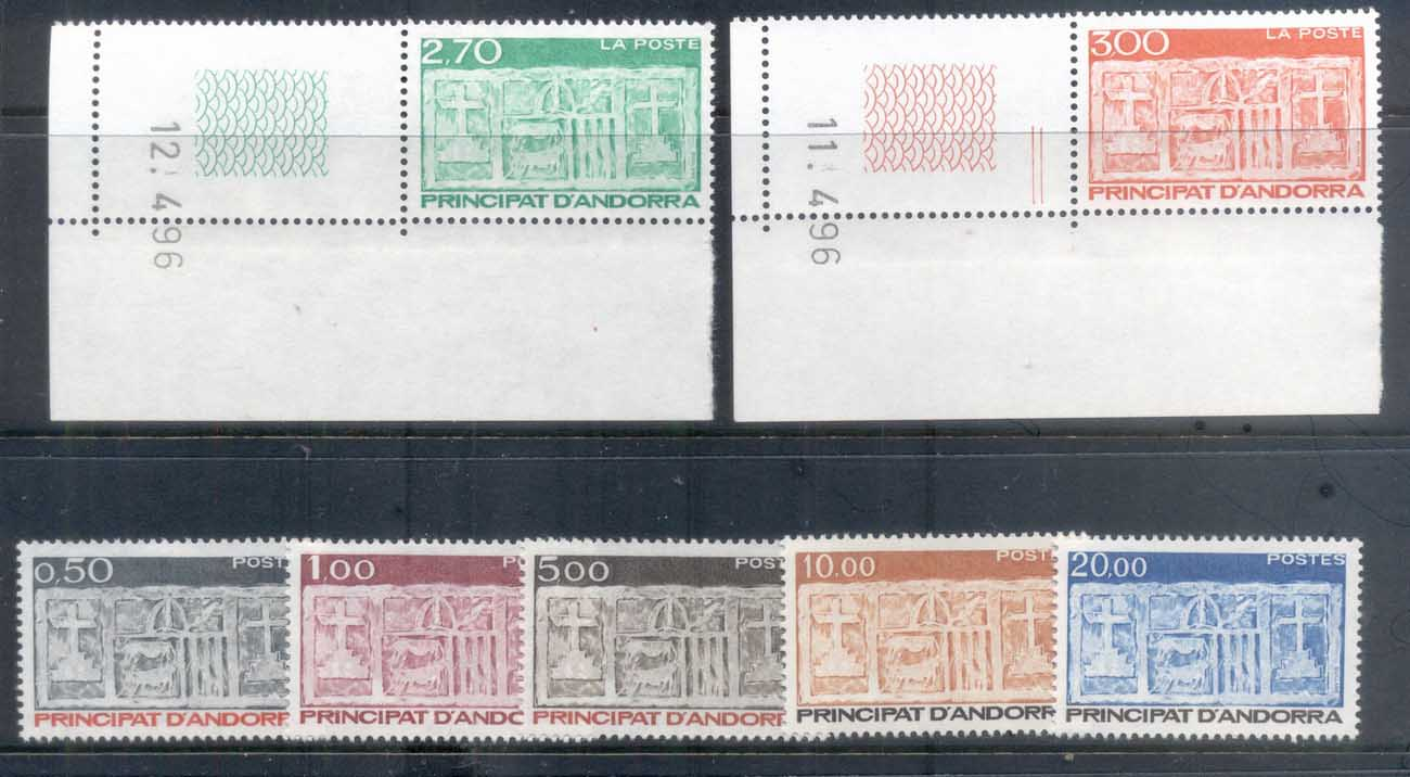 Andorra (Fr) 1983 on Arms of Valleys Assy MUH
