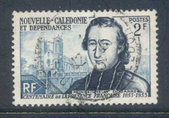 New Caledonia 1953 Douarne & Cathederal FU