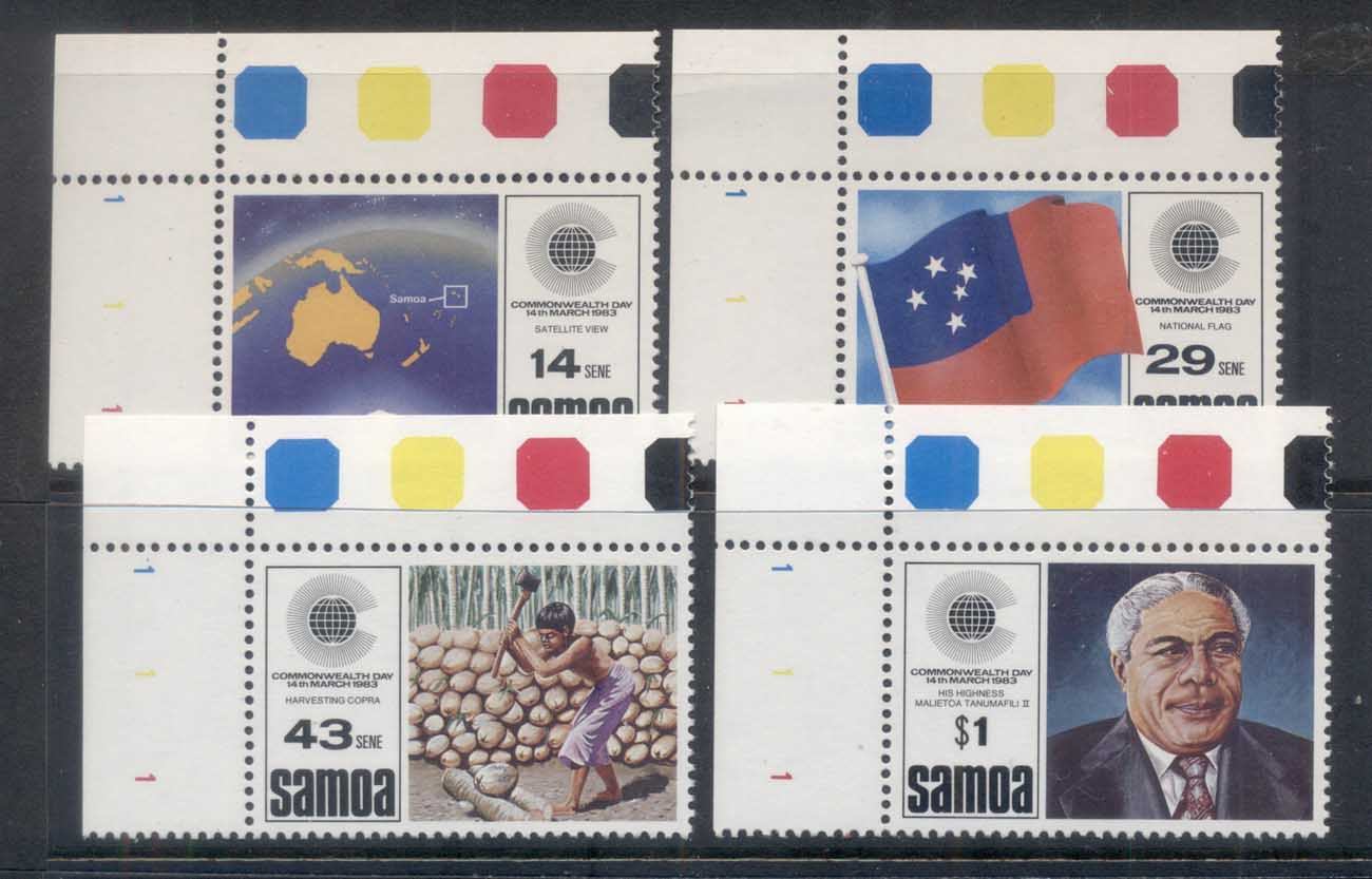 Samoa 1983 Commonwealth Day MUH
