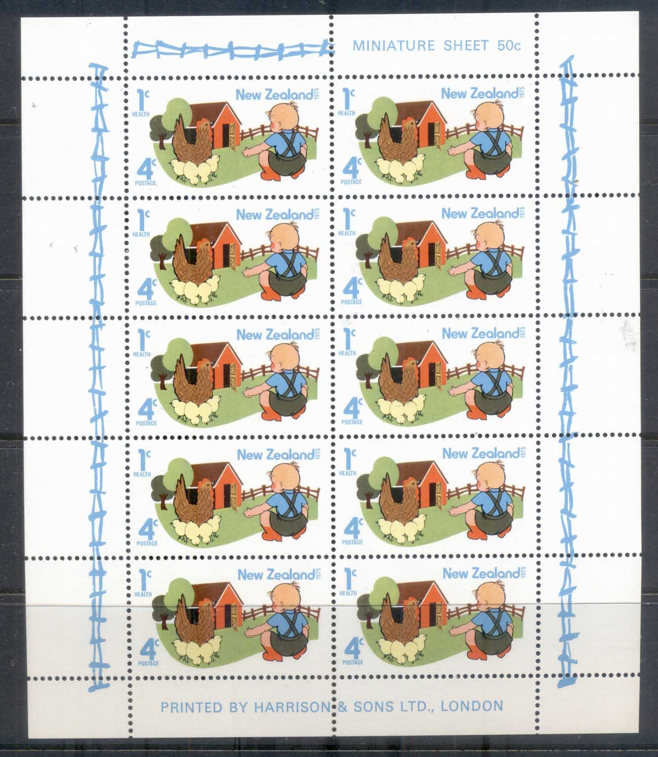 New Zealand 1975 Health, Children MS MUH