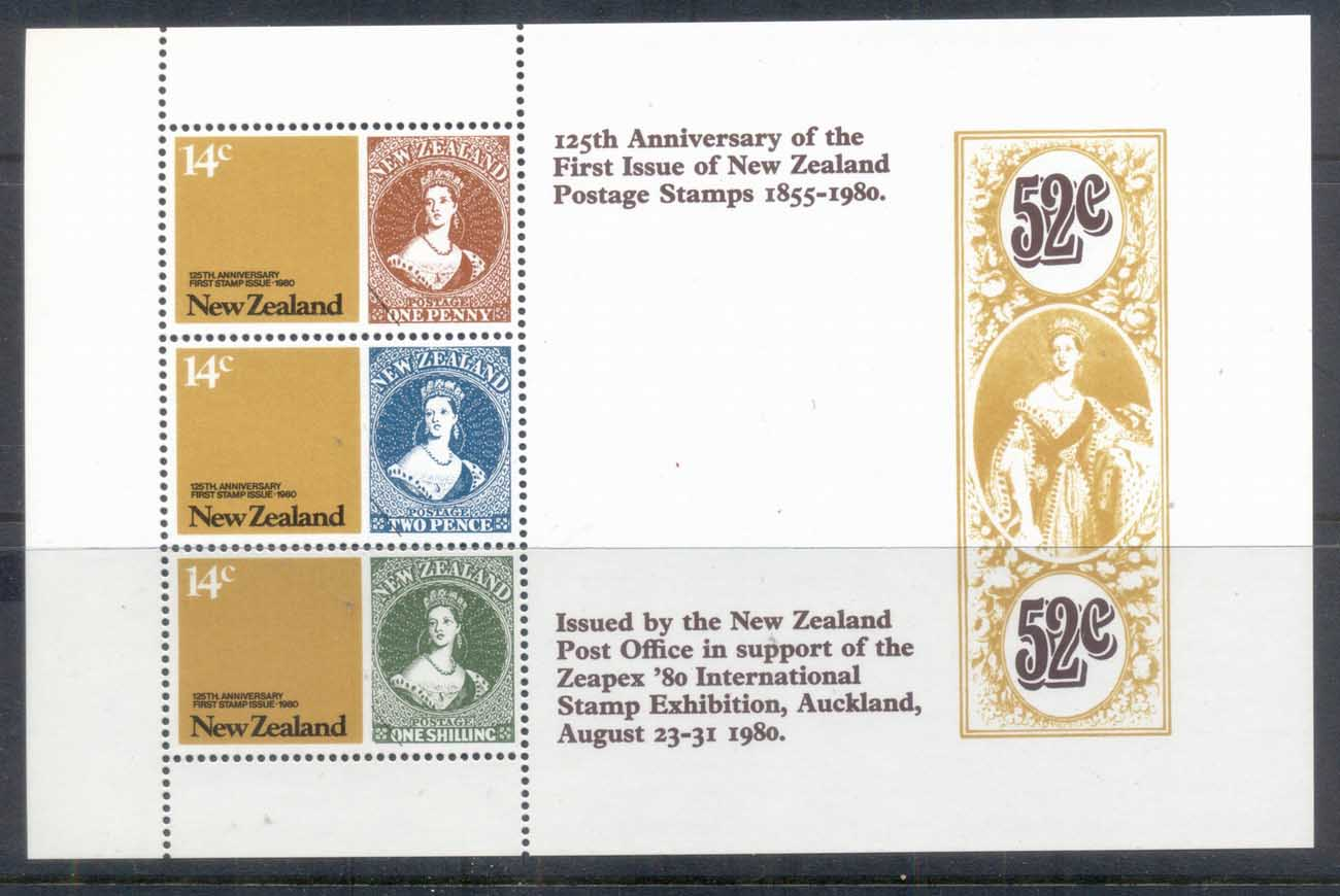 New Zealand 1980 Stamp Anniv MS MUH