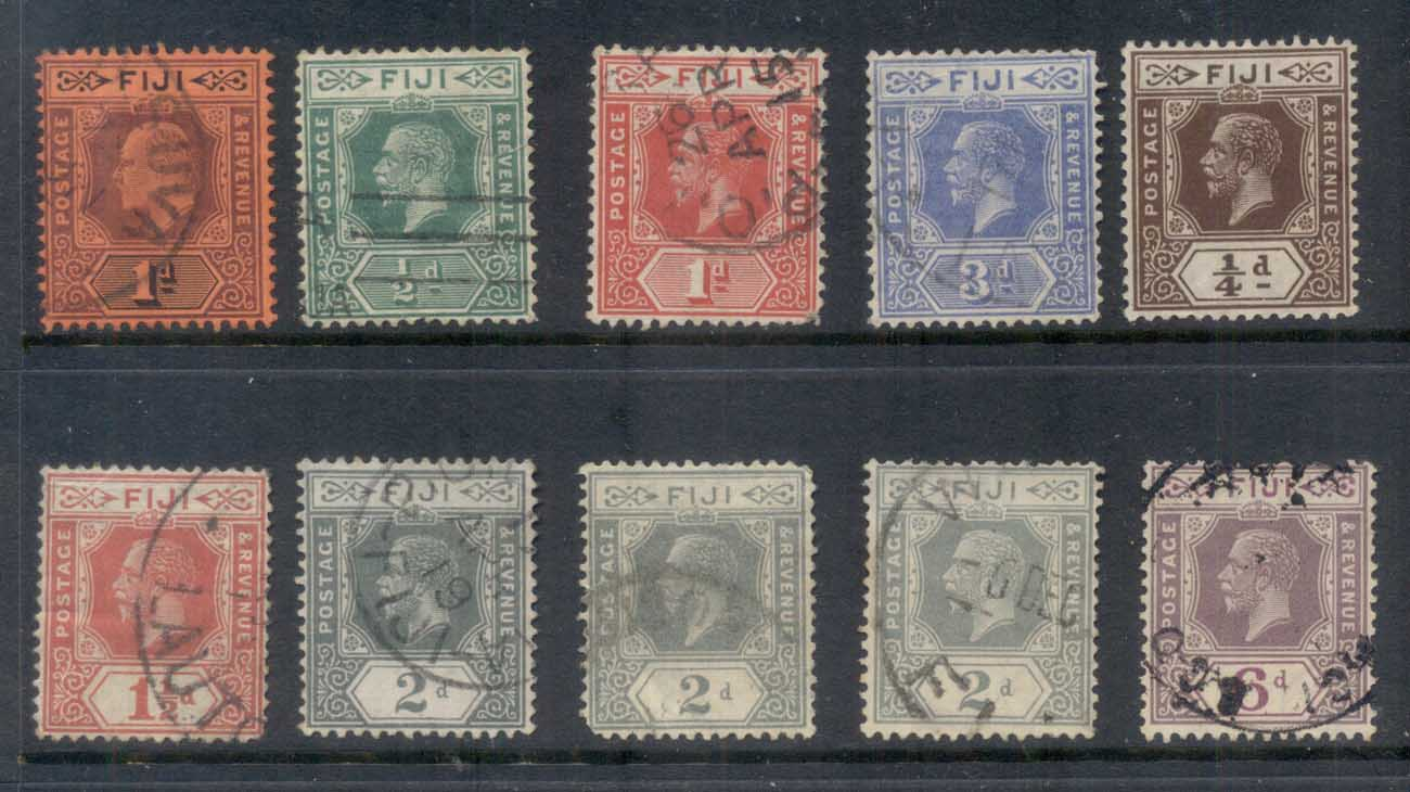 Fiji 1930's on Assorted Oddments, keyplate FU