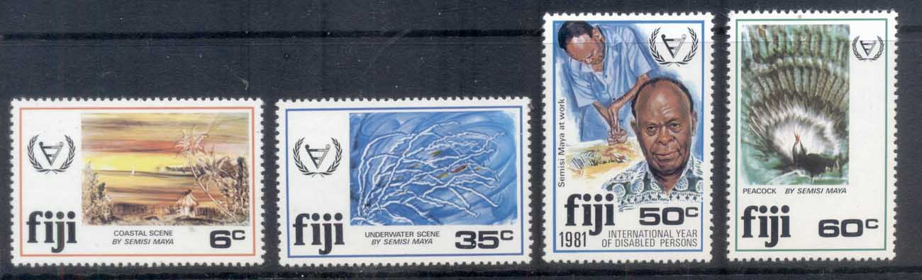 Fiji 1981 Intl. Year of Disabled MUH