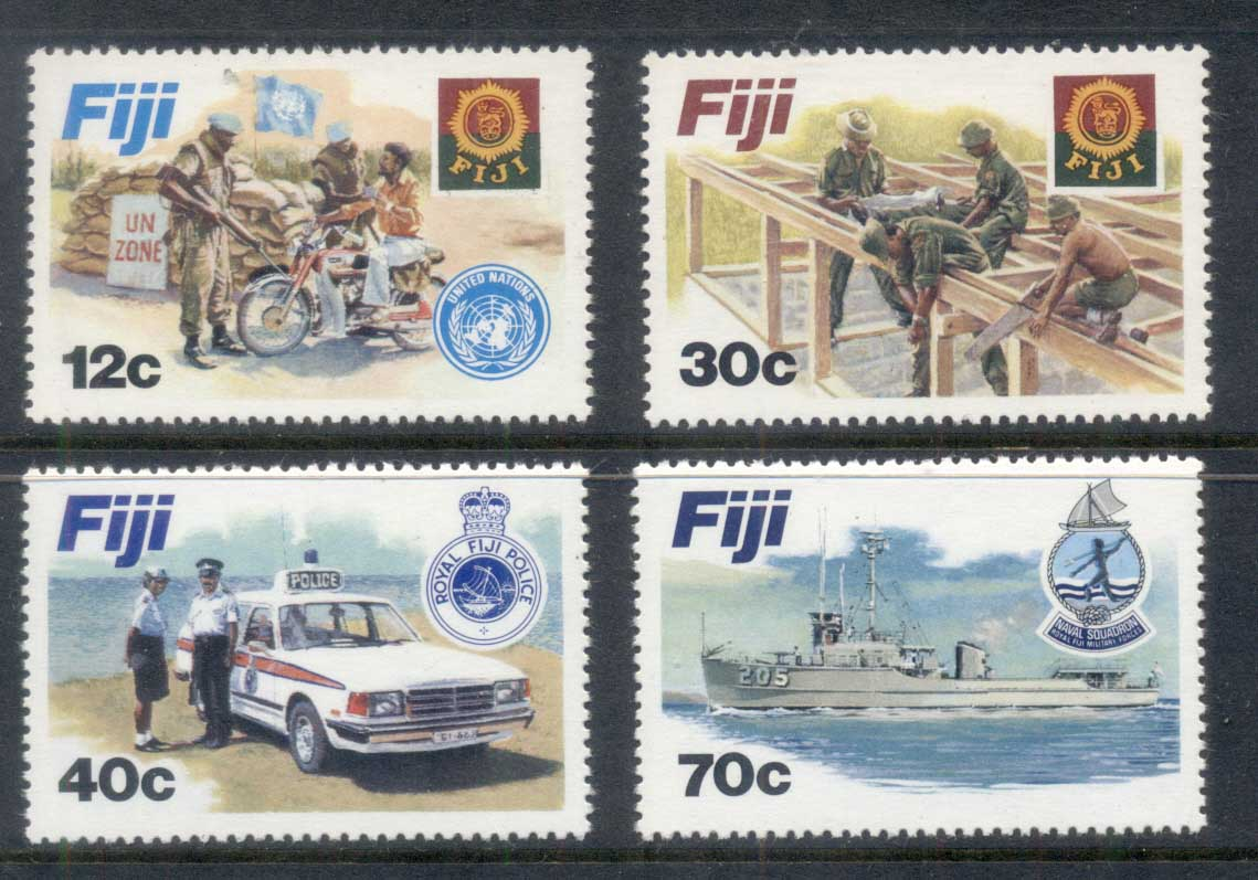 Fiji 1982 Disciplined Forces MUH