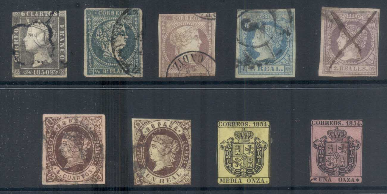 Spain 1950's on Assorted Oddments, small faults