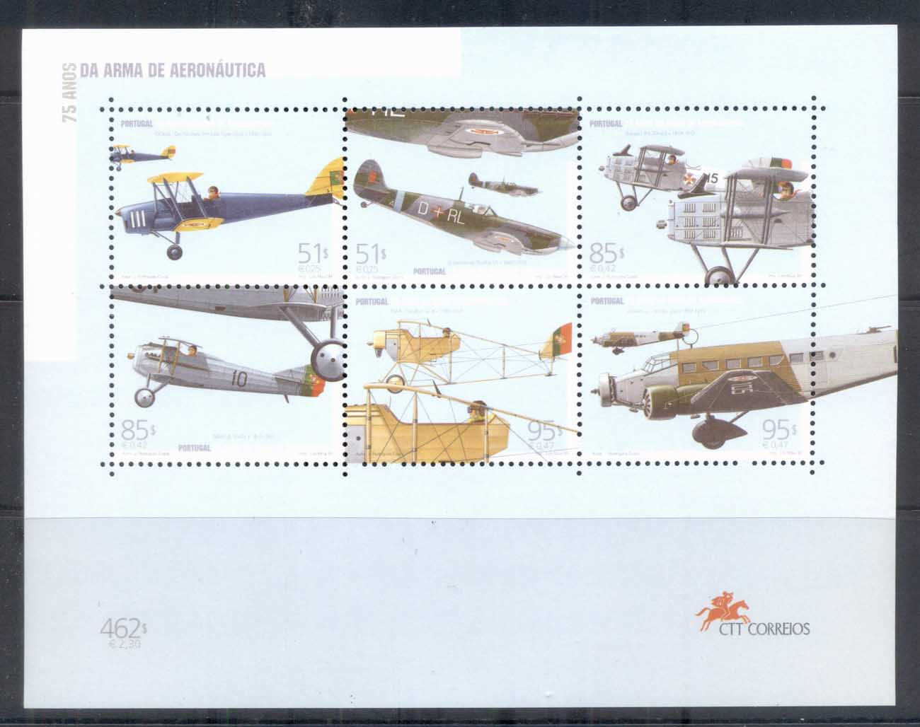 Portugal 1999 Portuguese Air Force MS MUH