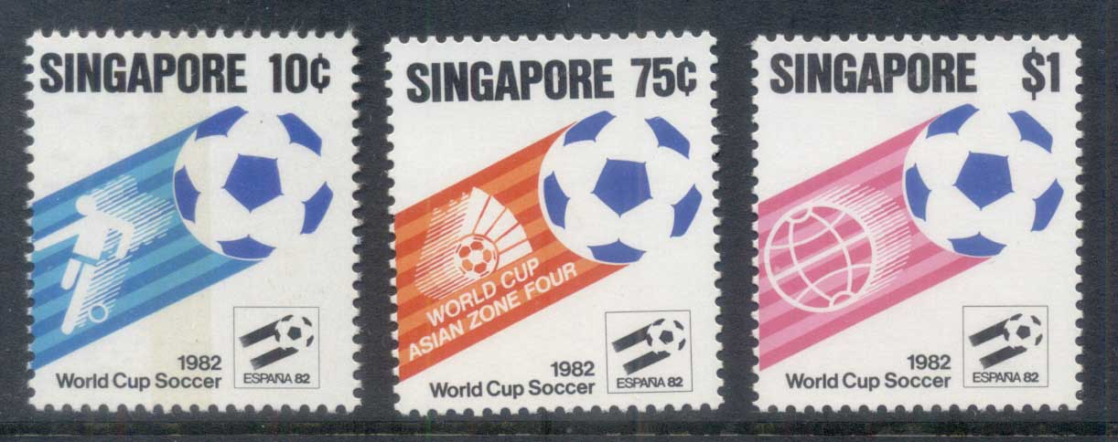 Singapore 1982 World Cup Soccer MLH