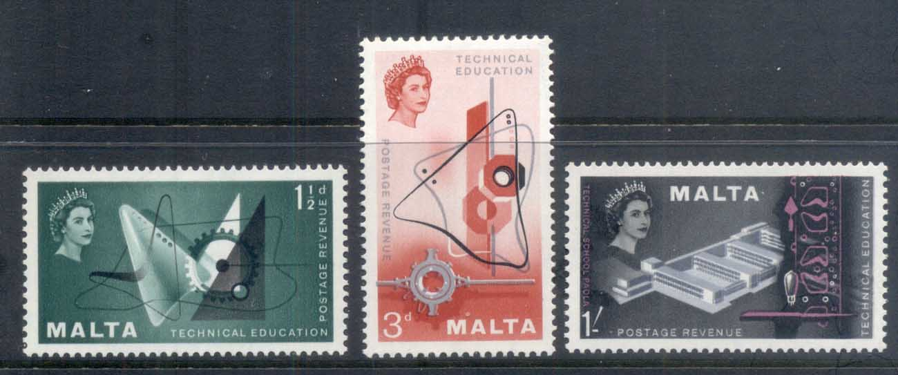 Malta 1958 Technical Education MUH