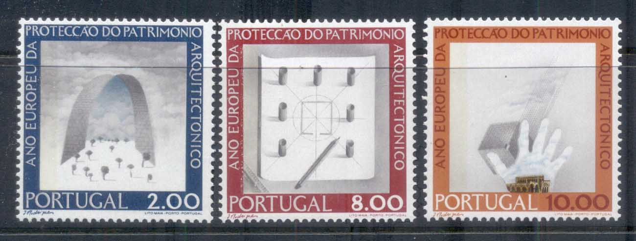 Portugal 1975 European Architectural Heritage