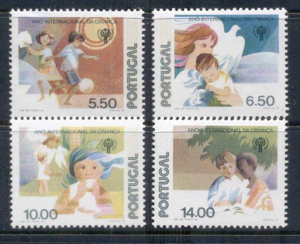 Portugal 1979 IYC Intl. Year of the Child MUH