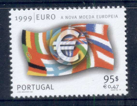 Portugal 1990 Euro Currency MUH - Click Image to Close