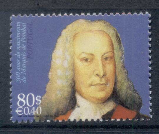 Portugal 1999 Marquis de Pombal MUH - Click Image to Close