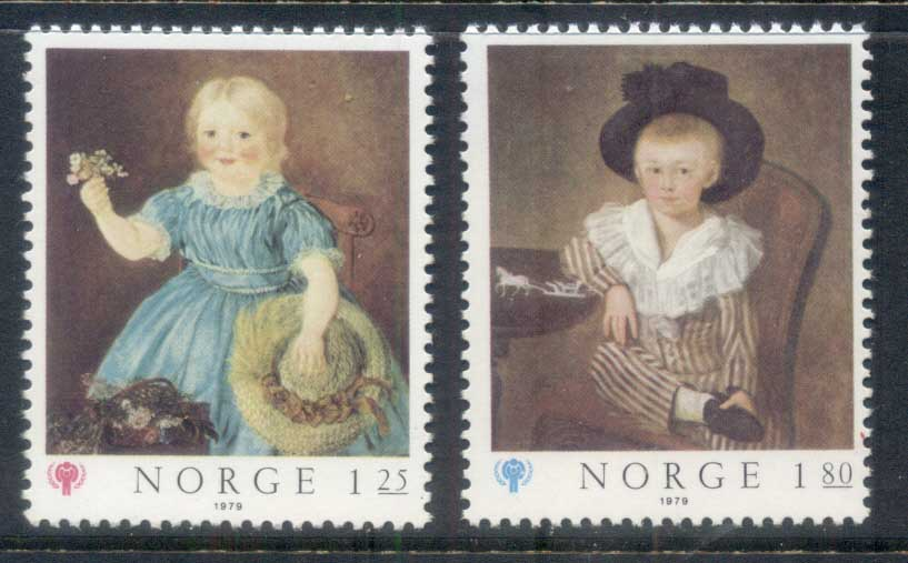 Norway 1979 IYC Intl. year of the Child MUH