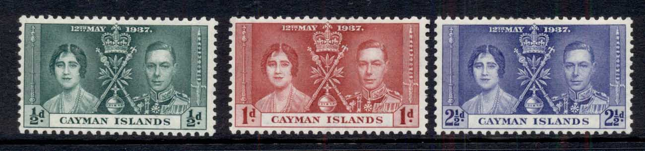 Cayman Is 1937 Coronation MLH