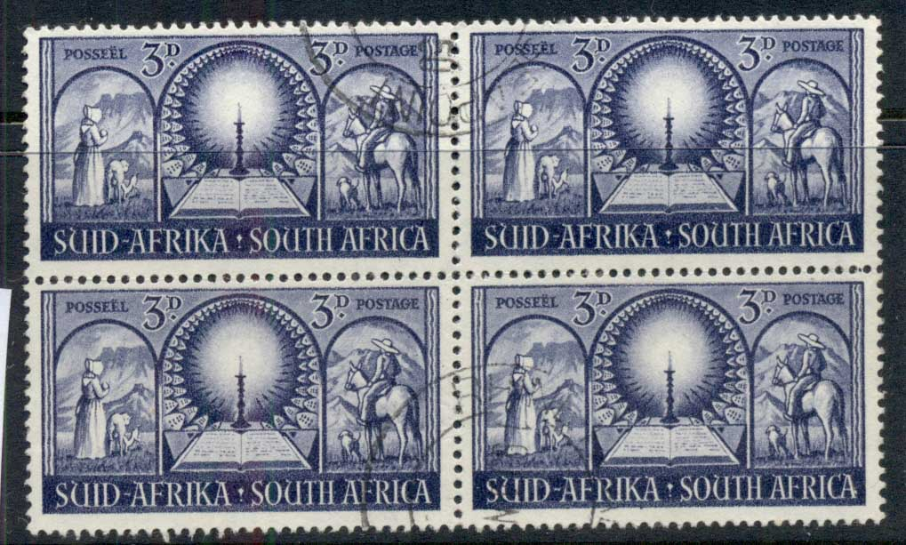 South Africa 1949 Vortrekkers 3d blk4 FU