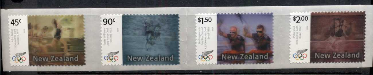 New Zealand 2004 Summer Olympics, Athens Medallists 3d str4 MUH