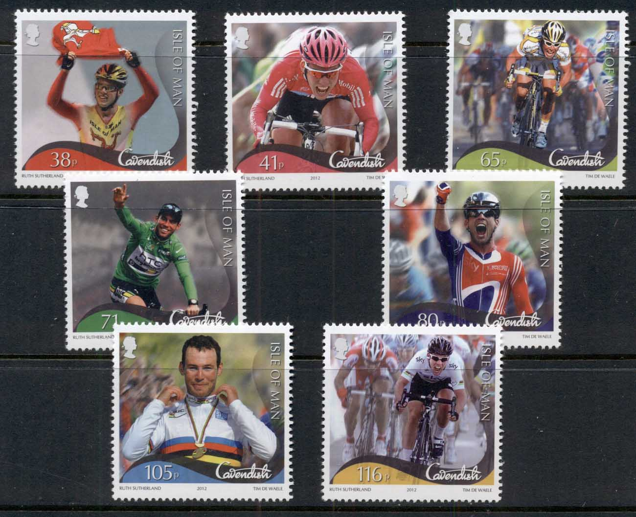 Isle of Man 2012 Mark Cavendish Cycling Victories MUH