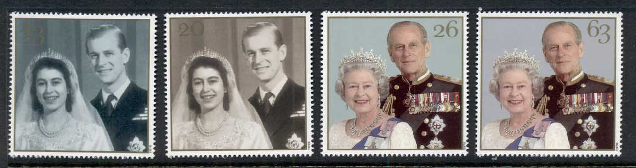 GB 2007 Royal Wedding 50th Anniv MUH