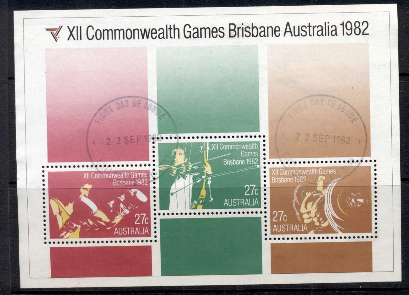 Australia 1982 Commonwealth Games MS FU