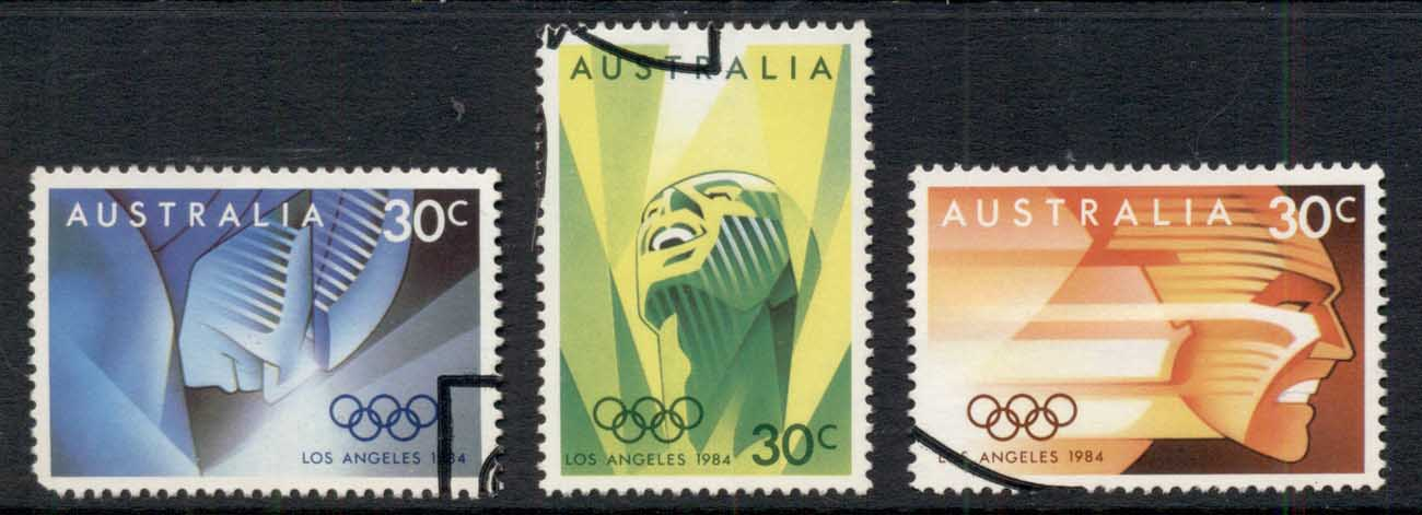 Australia 1984 Summer Olympics Los Angeles FU