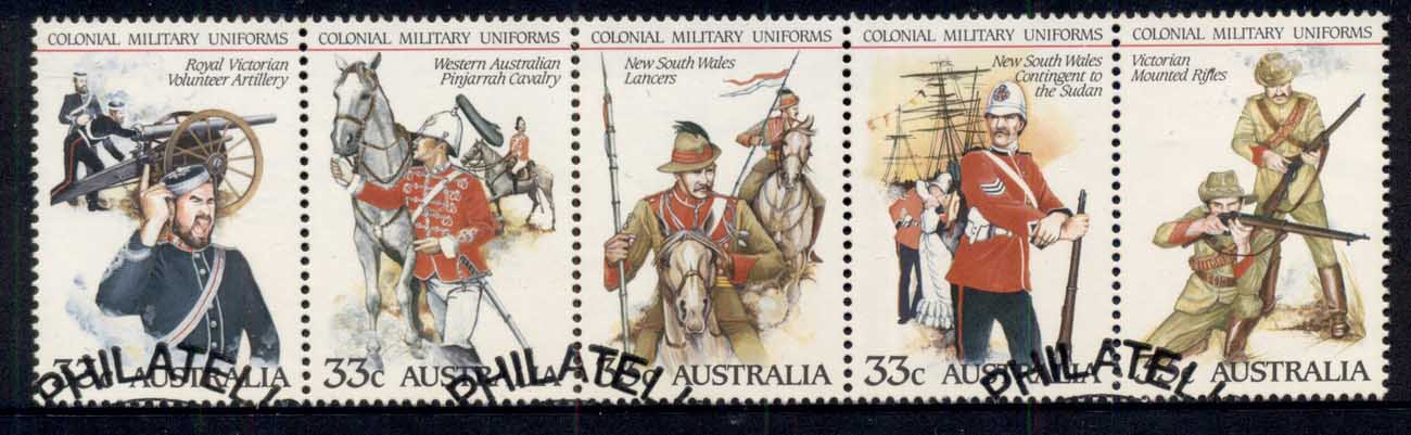 Australia 1985 Colonial Military Uniforms str5 FU