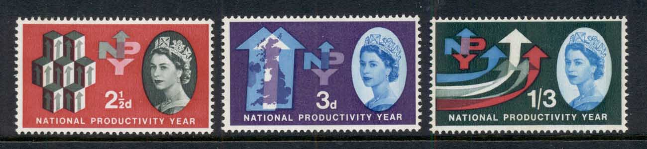 GB 1962 NPY National Productivity Year Phosphor MUH