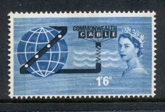 GB 1963 Commonwealth Cable COMPAC Phosphor MUH