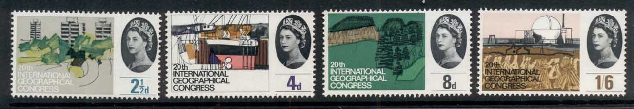 GB 1964 International Geographical Congress MUH