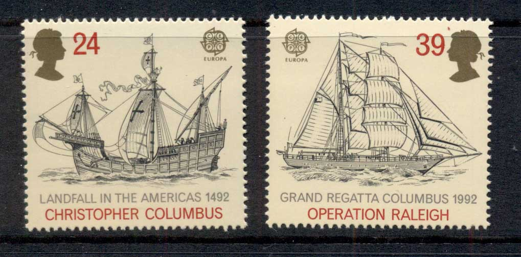 GB 1992 Discovery of America MUH