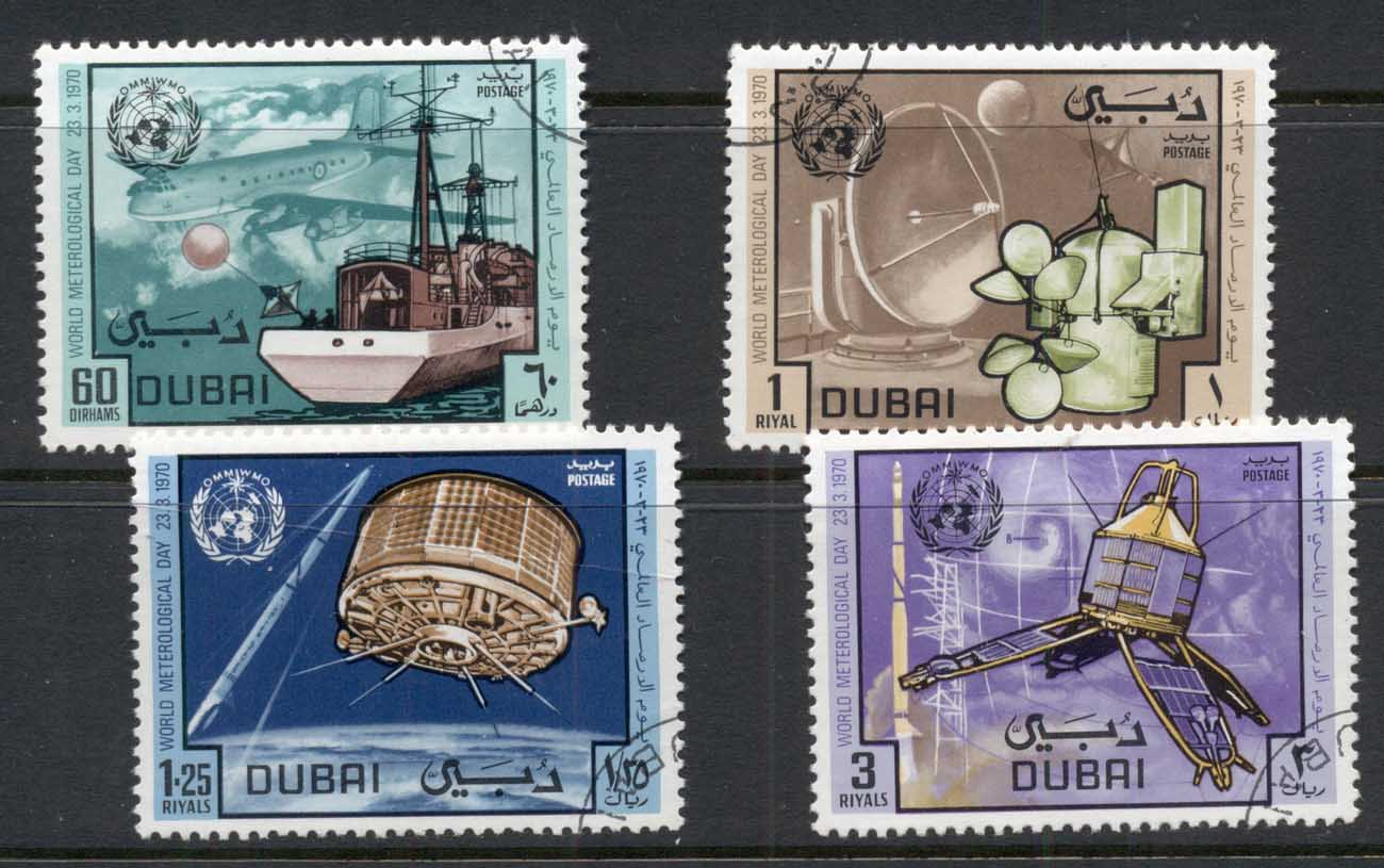 Dubai 1970 World Meterological Day CTO
