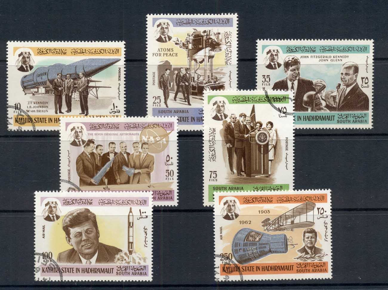Aden Kathiri State in Hadramaut 1967 JFK kennedy & Space research CTO