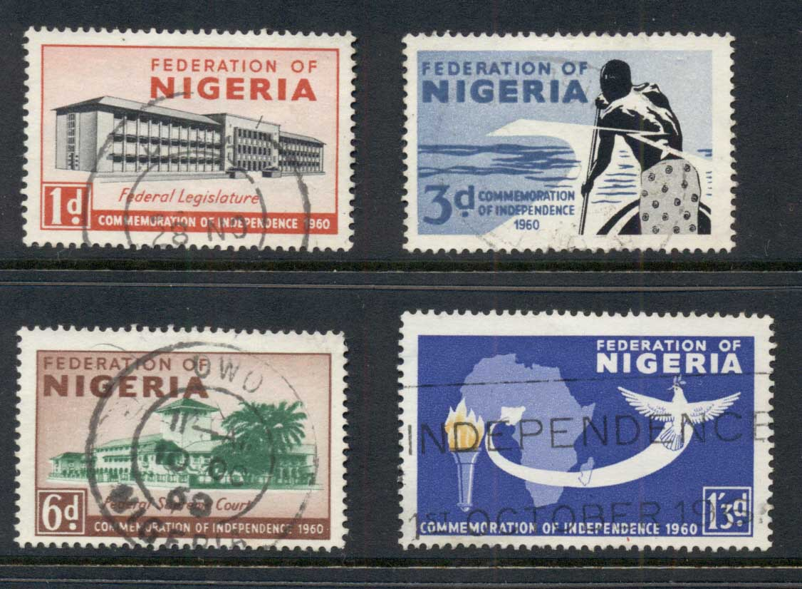 Nigeria 1960 Independence FU