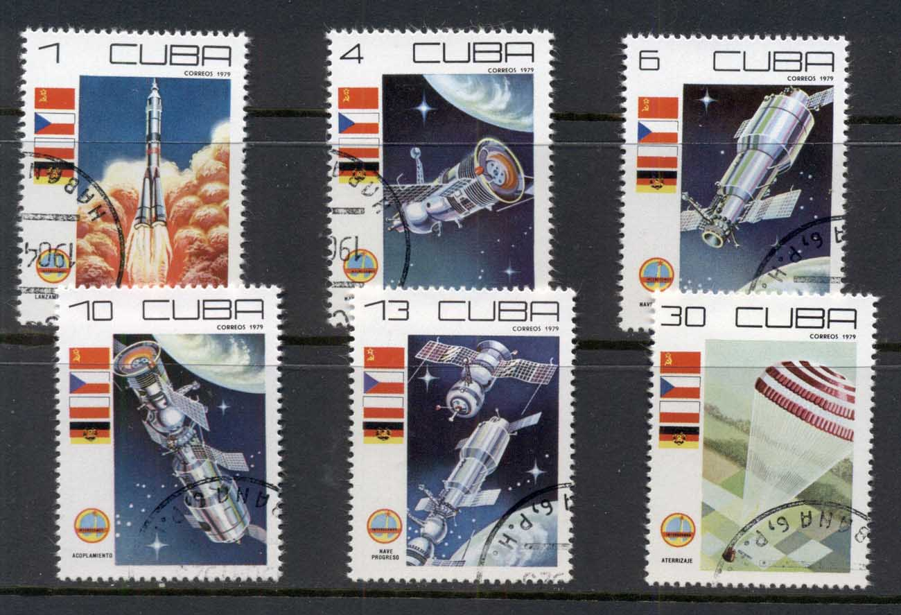 Caribbean Is 1979 Cosmonauts Day, Space Satellites CTO