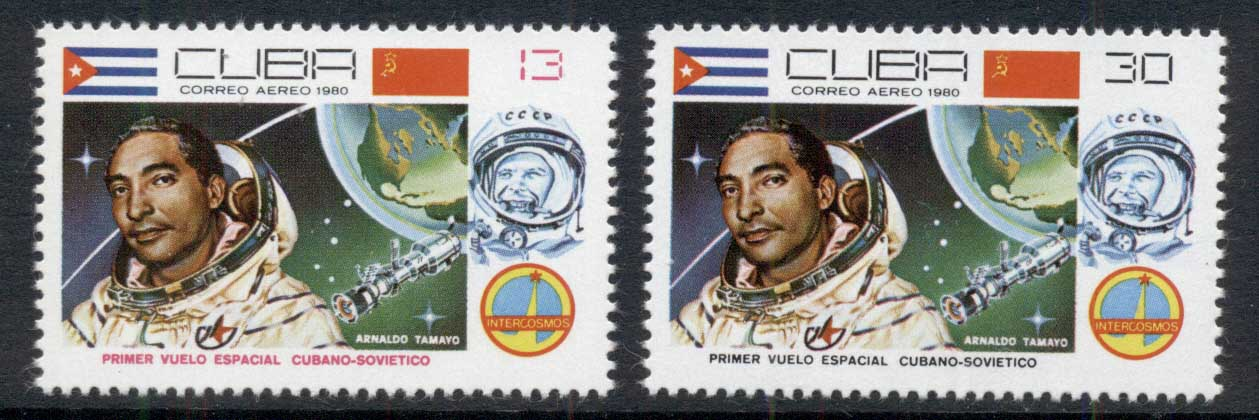 Caribbean Is 1980 Soviet Joint Space Flight MUH