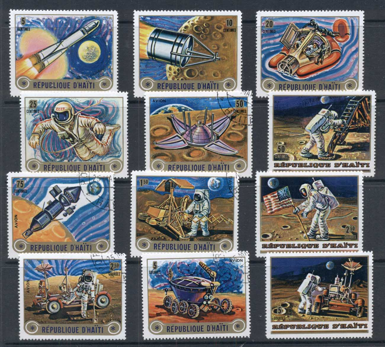 Haiti 1973 Space Exploration CTO