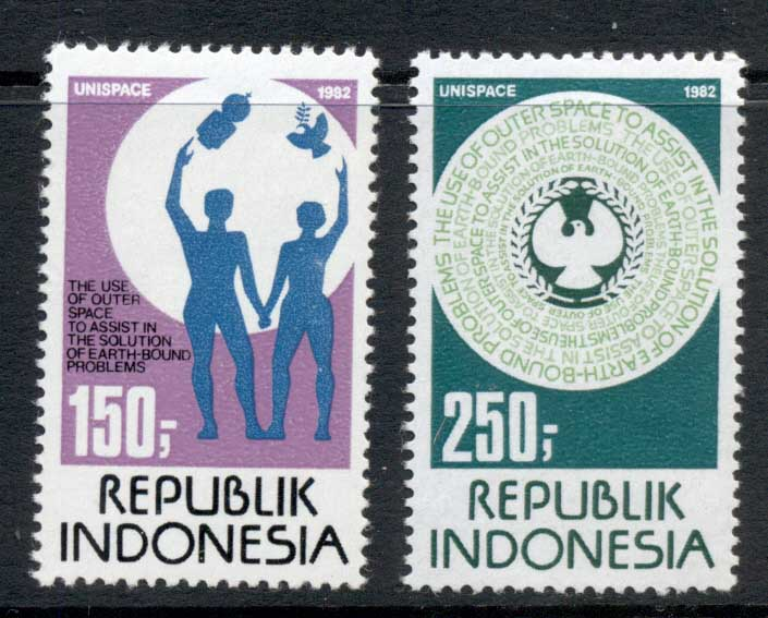 Indonesia 1982 Peaceful Use of Space MUH