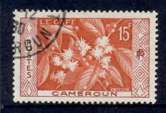 Cameroun 1956 Coffee FU