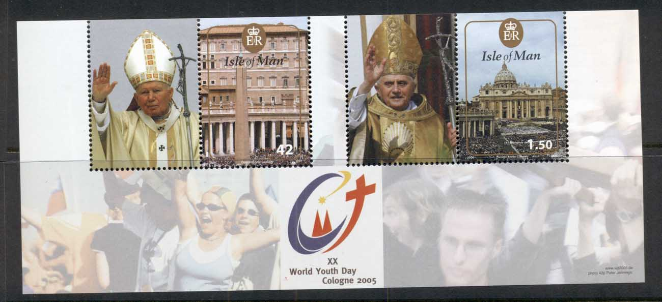 Isle of Man 2005 World Youth Day Cologne, Pope MS MUH