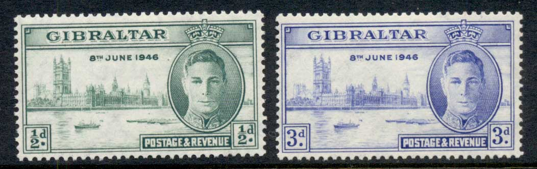 Gibraltar 1947 Victory MLH