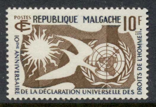 Madagascar 1958 Human Rights MLH