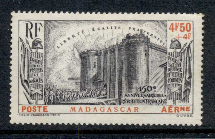 Madagascar 1939 French Revolution MLH