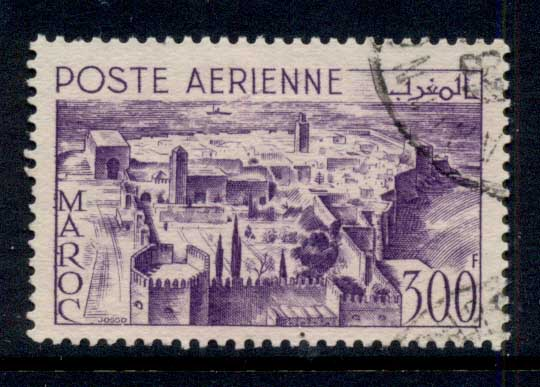 French Morocco 1951 Kasbah of the Oudayas, Rabat FU